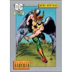 1991 DC Cosmic Cards - SILVER AGE HAWKMAN #11