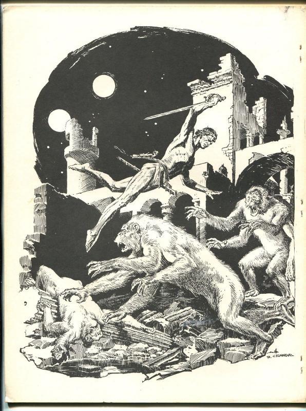 Frazetta-Wood-Crandall-Williamson-An Art Folio 1960's-28 pages-FN/VF