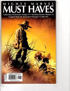 Lot Of 6 Origin Marvel Comic Books # 1 (MMMH) 2 3 4 (2) 6 NM 1st Prints J198