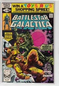 BATTLESTAR GALACTICA (1979 MARVEL) #20 VF+ A13938