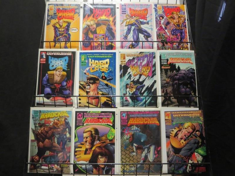 HARDCASE (1993 MA/UL) 1-26  the COMPLETE series!