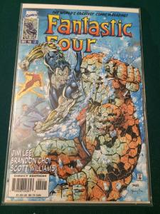 Fantastic Four #2 vol 2 Heroes Reborn NM-M