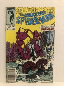 Amazing Spiderman #292 Newsstand Edition Spider Slayer App Mary Jane Says Yes!