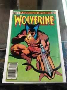 Wolverine 4 FN/VF- Frank Miller Needs Pressed