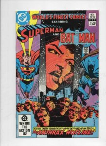 WORLD'S FINEST #292, VF+, Batman, Superman, Anthrax, 1941 1983, more in store