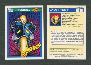 1990 Marvel Comics Card  #82 (Ghost Rider) / MINT