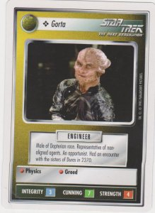 1995 Star Trek Trading Game Card Garta