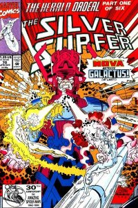 Silver Surfer (1987 series) #70, NM + (Stock photo)