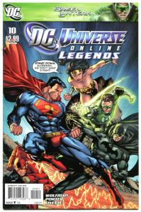 DC UNIVERSE online LEGENDS #10, NM, 2011, Wonder Woman, Batman, more DC in store