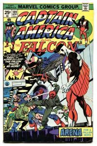 CAPTAIN AMERICA #189 1975-FALCON-RED SKULL COVER vg