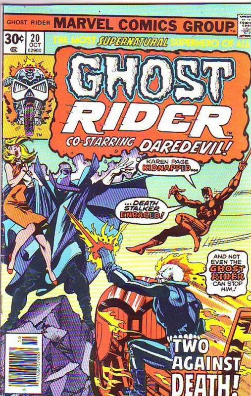 Ghost Rider, The #20 (Oct-76) NM- High-Grade Ghost Rider