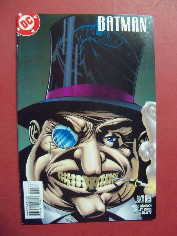 BATMAN #549 (Near Mint 9.4 or better) DC COMICS  1997