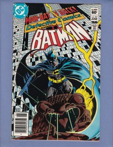 Detective Comics #527 FN Batman Man-Bat DC 1983