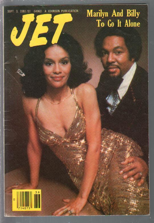 Jet 9/3/1981-Johnson-Marilyn McCoo0Billy Davis Jr-Teresa Parker-pix-info-VG-