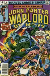 John Carter: Warlord of Mars (1977 series) #9, NM- (Stock photo)