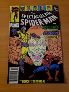 Spectacular Spider-Man #162 Newsstand Edition ~ NEAR MINT NM ~ 1990 Marvel