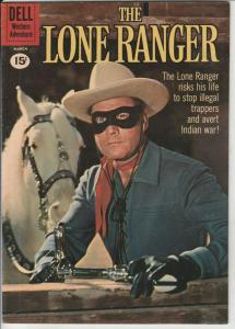 Lone Ranger, The #138 (Mar-61) NM- High-Grade The Lone Ranger, Tonto, Silver