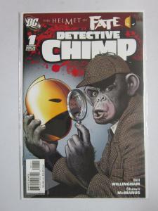 Helmet of Fate Detective Chimp #1, 8.0/VF (2007)