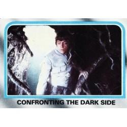 1980 Topps Star Wars The Empire Strikes Back CONFRONTING THE DARK SIDE #246 EX