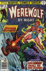 Werewolf By Night #41 VG; Marvel | low grade comic - save on shipping - details