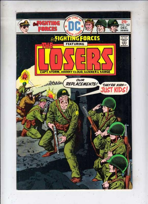 Our Fighting Forces #162 (Dec-75) VF/NM High-Grade The Loosers