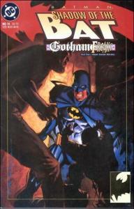 DC BATMAN: SHADOW OF THE BAT #14 VF+