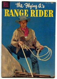 The Flying A's Range Rider #16 1957- Dell Western- Jock Mahoney FN