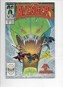 AVENGERS #293, VF/NM, Captain, Thor, Sub-Mariner, 1963 1988, Marvel