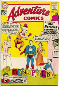 Adventure #286 1961-DC-Superboy-Mr. Mxyzptlk Becomes A Bizarro-VG-