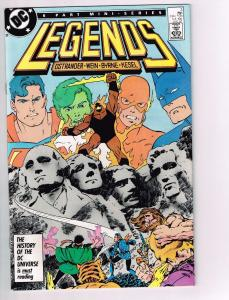 Legends # 3 NM 1st Print DC Comic 1st Modern Suicide Squad Appearance KEY J13