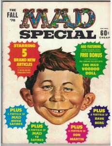 MAD SPECIAL (1970-    ) 1 (FALL 1970) VF  VOODOO D