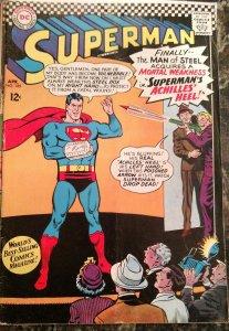 Superman #185 (DC,1966) Condition FN/VF