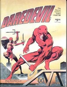 DAREDEVIL-MARVEL COMICS INDEX 9B-1982-RARE