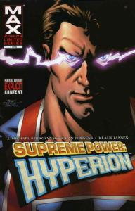 Supreme Power: Hyperion #1 VF/NM; Marvel | save on shipping - details inside