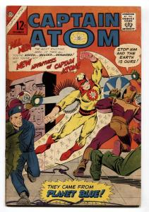 Captain Atom #78 1965- Steve Ditko- Charlton comics- New costume/Origin FN