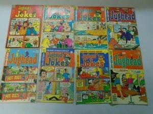 Silver + Bronze age Archie Jughead's Jokes + World lot 48 different avg 4.0 VG