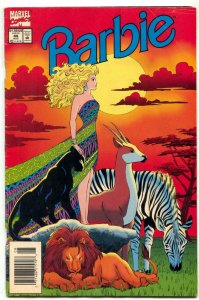 Barbie #44 1994- Jungle cover- Marvel VG-