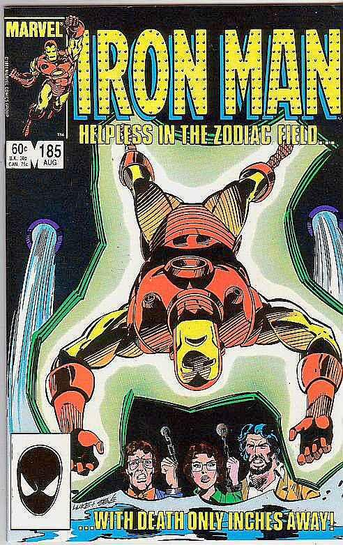 Iron Man #185 (Aug-85) NM/MT Super-High-Grade Iron Man