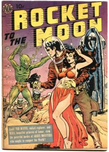 ROCKET TO THE MOON-1951-AVON-WALLY WOOD-JOE ORLANDO-PRE CODE-SCI FICTION