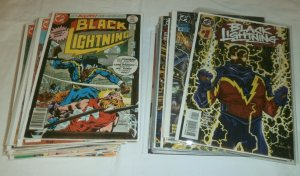 Black Lightning V1 #1-11 V2 #13 complete!!! + Year One, Tec comic book lot of 36
