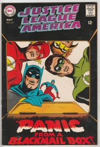 Justice League of America #62 (May-68) NM- High-Grade Justice League of Ameri...