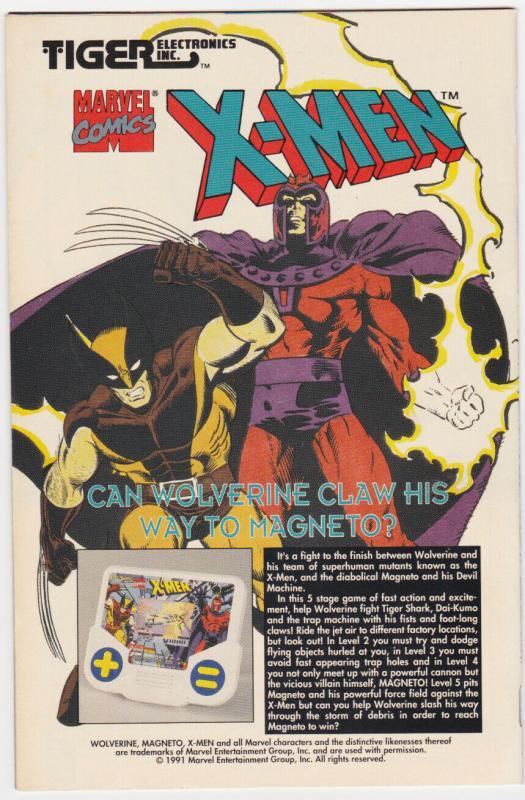 X-MEN #4 1992-MARVEL-WOLVERINE-FIRST OMEGA RED
