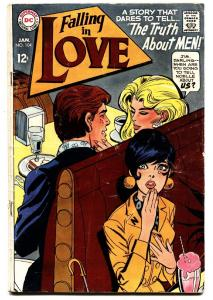 FALLING IN LOVE #104 1969-DC ROMANCE COMICS-FASHIONS VG