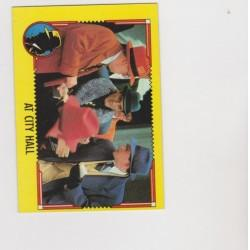 1990 Topps DICK TRACY-AT CITY HALL #39