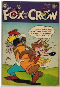 FOX AND THE CROW 9 GOOD May 1953 COMICS BOOK