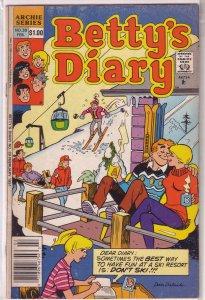 Betty's Diary   vol. 1   #39 GD/VG