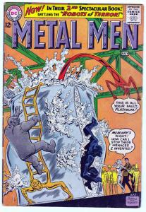 METAL MEN #2-SILVER AGE-DC-ANDRU-ESPOSITO