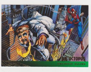 1995 Fleer Ultra Spider-Man #128 Spider-Man/Dr Octopus
