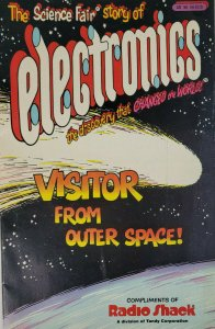 Radioshack Fall 1985 Science Fair of Electronics Outer Space Comic Book - FN