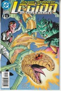 Legion of Super Heroes(vol. 3) # 117  Sensor dissected ?